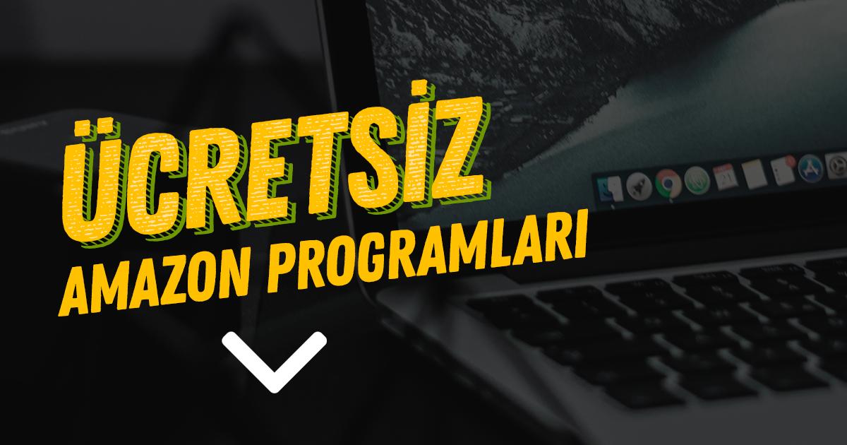 Ücretsiz Amazon Programları